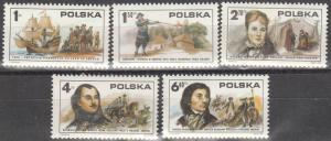 Poland #2117-21  MNH   (K1455)
