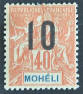 DYNAMITE Stamps: Moheli Scott #20 – MINT hr