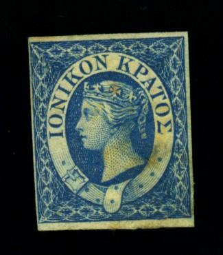 Ionian Islands #2 MINT F-VF OG Several HR's Minor stain Cat$32.50