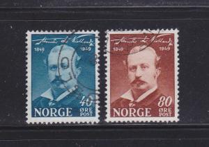 Norway 296-297 U Alexander Kielland, Author