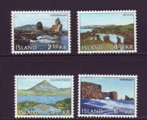 Iceland Sc 380-3 1966 West Iceland stamp set mint NH