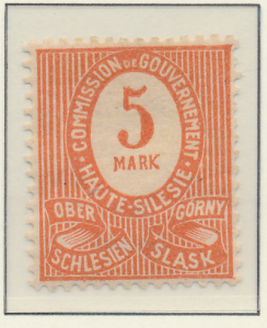 Upper Silesia Stamp Scott #9, Mint Hinged - Free U.S. Shipping, Free Worldwid...