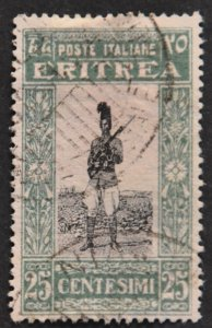 DYNAMITE Stamps: Eritrea Scott #123 – USED