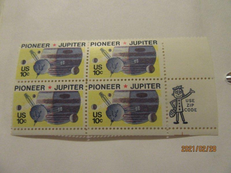 SCOTT 1556 10 CENT PIONEER  1975 OG