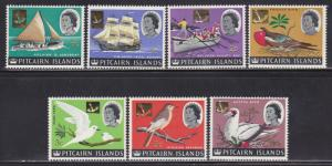 Pitcairn Is Scott # 39-51 VF lightly hinged set nice colors scv $ 29 ! see pic !
