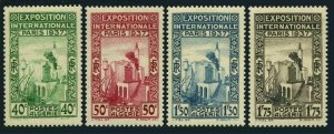 Algeria 109-112, MNH. Michel 130-133. Paris Exposition, 1937. Pavilion.
