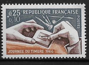 FRANCE, B400, MNH, ENGRAVER