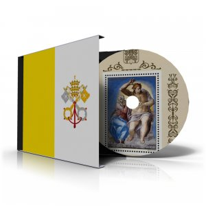 VATICAN CITY STAMP ALBUM PAGES 1921-2011 (191 PDF color illustrated pages)