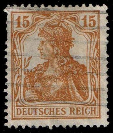Germany #99 Germania; Used (2.25)