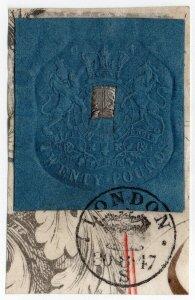 (I.B) QV Revenue : Impressed Duty £20 (London 1847)