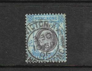 HONG KONG 1903  10c KEVII  FU   SG 67