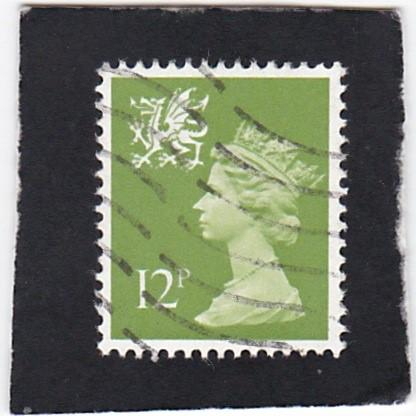 Great Britain;  Wales &  Monmouthshire;  #  17   used