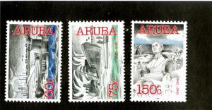 ARUBA 222-4 MNH SCV $8.50 BIN $4.25