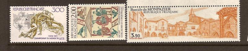 FRANCE STAMPS MNH -YEARS 1986-87 # LOT#313