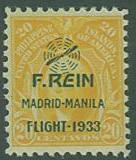 Philippines SC#C43 Rein Flight of 1923, 20c, MNH