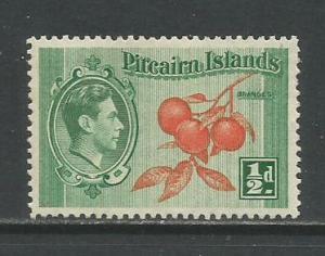 Pitcairn Isl.   #1  MLH  (1940)  c.v. $0.50