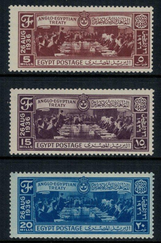 Egypt #203-5*  CV $3.55