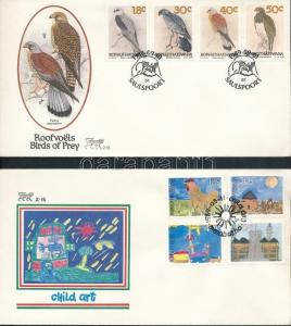 South-Africa-Bophuthatswana stamp 2 FDC Cover 1989 WS201854