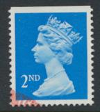 Great Britain SG 1445 Sc# MH292    Used with first day cancel - Machin 2nd