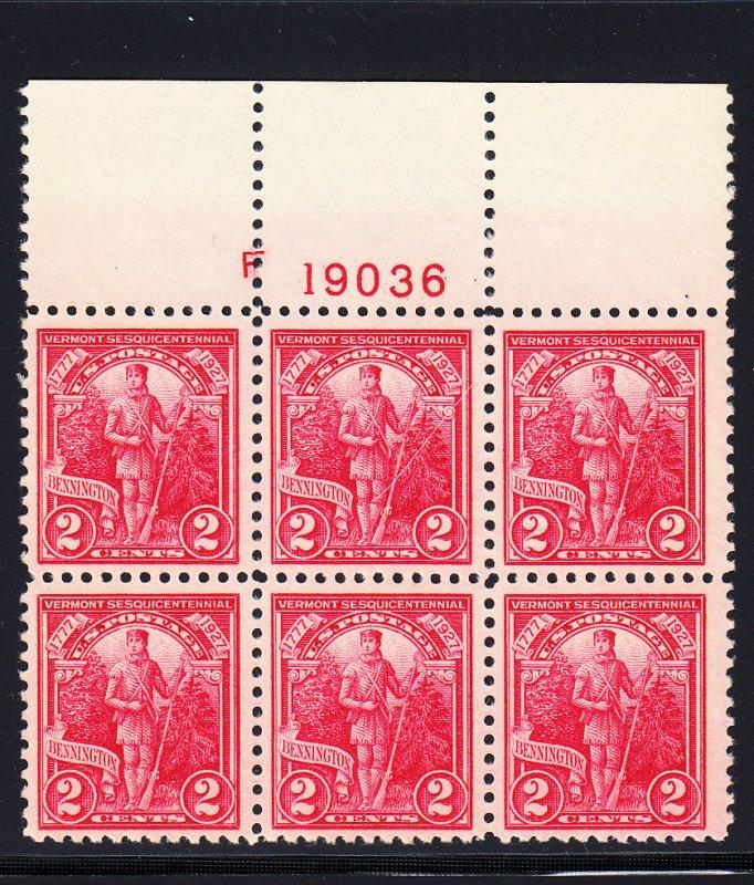 643 XF/NH Plate block