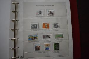 GERMANY COLLECTION 1984 YEAR SET  MNH