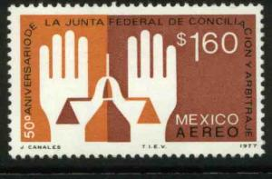 MEXICO C536, 50th Anniv. Labor Arbitration Court. MINT, NH. VF.