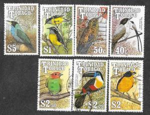 Trinidad & Tobago 511-517 Used Birds!