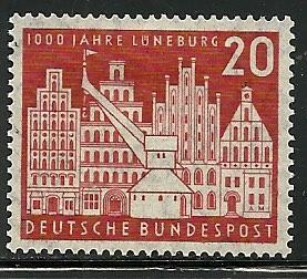 Germany # 741, Mint Hinge