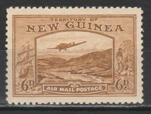 NEW GUINEA 1939 BULOLO AIRMAIL 6D