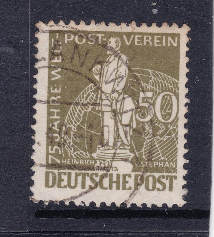 West Germany the 1949 UPU 50pf used