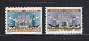 Portugal 873-874 Set MH Ships (B)