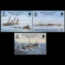 BR.ANTARCTIC TERR. 1999 - Scott# 285-7 Explorer Set of 3 LH