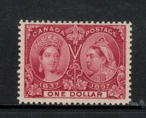 Canada #61 Mint Fine+ Never Hinged **With Certificate**