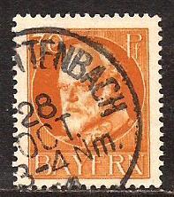 Bavaria  #  104  used .      B