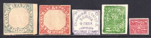 INDIA AND STATES COLLECTION LOT #1 YOU IDENTIFY AND GRADE