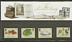 1988 THE LINNEAN SOCIETY  PRESENTATION PACK 187