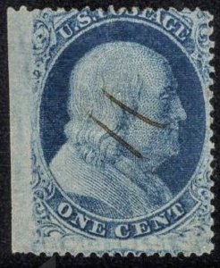 US 24 Used F SCV $40 Great looking stamp!! Pen cancel