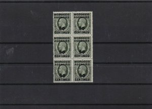 morocco agencies 1925 mnh stamps cat £120+ ref 12646