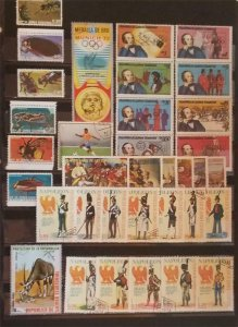 EQUATORIAL GUINEA Stamp Lot Used MH T1093