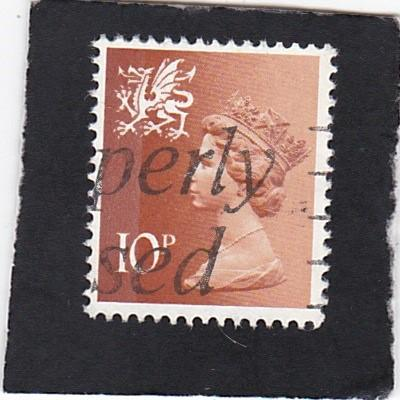 Great Britain;  Wales &  Monmouthshire;  #  13   used