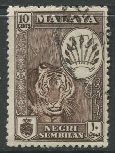 STAMP STATION PERTH Negri Sembilan #69 Arms Definitive Used 1957-63