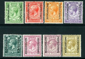 BECHUANALAND-1925-7 A mounted mint set to 1/- Sg 91-98