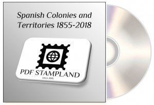 Spanish colonies and territories 1855-2018 (3 albums) PDF STAMP ALBUM PAGES
