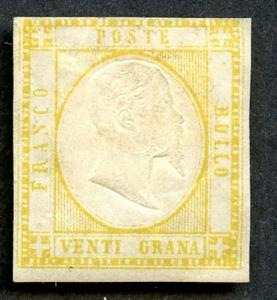 Two Sicilies Sc 26 MH. 2019 SCV $425.00