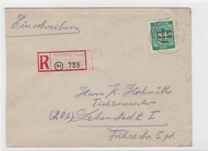 Germany Soviet Zone 1948 Magdeburg to Lebenstedt  stamps cover  R20737