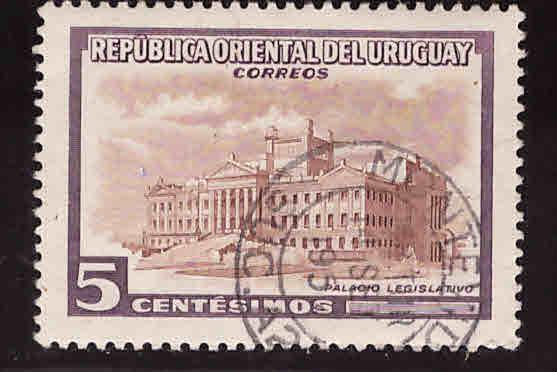 Uruguay Scott 609 Used stamp