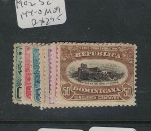 Dominican Republic SC 144-50 MOG (1dvt)
