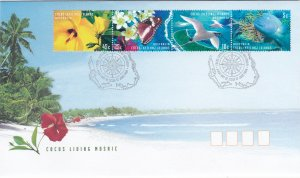 Cocos Islands # 331, Flora & Fauna of the Cocos Islands, First Day Covers