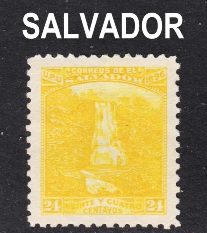 El Salvador Scott 170I VF mint no gum. 1st issue.