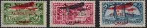 Alaouites 1929 SC C17-C19 Set LH CV $66.50